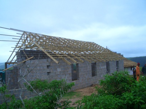roof trusses done