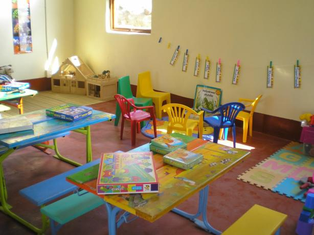 One of our three beautiful classrooms