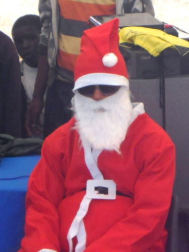 Father Christmas visits the BI!