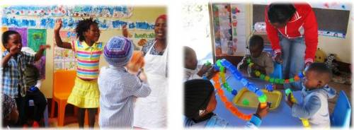Having fun with the kids is an important part of Early Childhood Development!