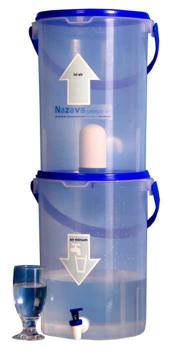 Nazava water filter with bucket