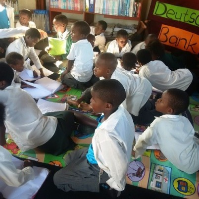 Primary school learners attending the ASP